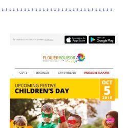 [Floweradvisor] Children's Day: Make The Most Out Of Little One's Day. Prepare The Gift Today!