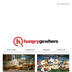 [HungryGoWhere] Dine like a Crazy Rich Asian at luxurious restaurants, and still save up to 15% off with selected bank cards