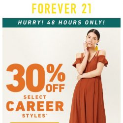 [FOREVER 21] 30% OFF WORKWEAR