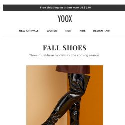 [Yoox] Shoes to invest in this fall