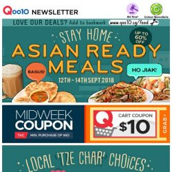 [Qoo10] Celebrate Mid-Week with Delicious $19.90 House of Seafood Bundle, $18.90 Mango Mousse Cake with FREE delivery & More!