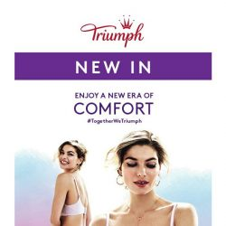 [Triumph] Drop Everything - New Comfort Touch Is Here