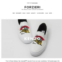 [Forzieri] New Arrivals by: Kenzo, Moschino and Dsquared2