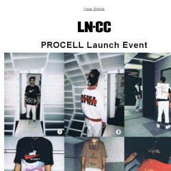 [LN-CC] TONIGHT: PROCELL LAUNCH EVENT