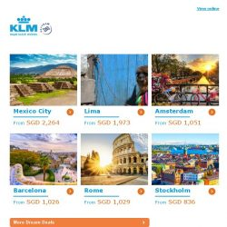 [KLM] ✈ , final chance to get your Dream Deal!