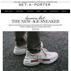 [NET-A-PORTER] So-now sneakers to covet
