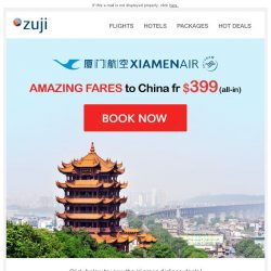 [Zuji] BQ.sg: Amazing fares to China from $399!
