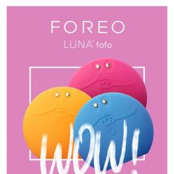[Foreo] Our Beauty App ➕ LUNA Fofo = Dewy Skin For Days 💯