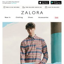 [Zalora] 📣 EXTRA 15% off New Picks - Last Call!