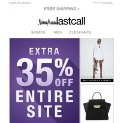 [Last Call] Extra 35% off all this