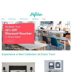 [HipVan] Grab Your 10% Discount Voucher & Take a Nap with us!💤