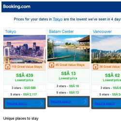 [Booking.com] Prices in Tokyo are the lowest we've seen in 4 days!