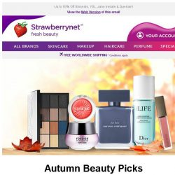 [StrawberryNet] , 🍁 Autumn Beauty Picks 🍂 for a GORGEOUS Fall Makeover