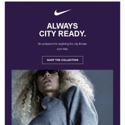 [Nike] Are you City Ready?