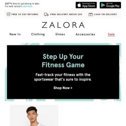 [Zalora] Fast-track your fitness with this sportswear edit!