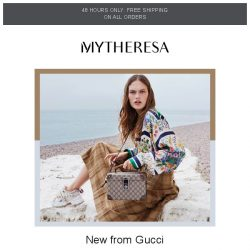 [mytheresa] New Gucci styles to covet + free shipping