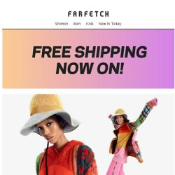 [Farfetch] New knits + Free Shipping. September just got better