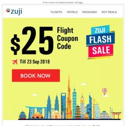 [Zuji] BQ.sg: It's back! $25 OFF your flight!