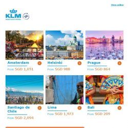 [KLM] ✈ , Dream Deals have been extended!