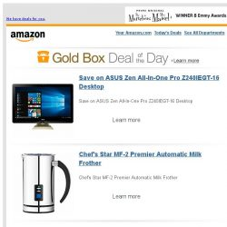 [Amazon] Save on ASUS Zen All-In-One Pro Z240IEGT-16...