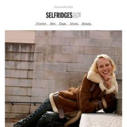 [Selfridges & Co] Shearling coats: perfect for snuggling into