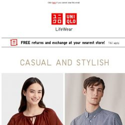 [UNIQLO Singapore] Functionality meets comfort!