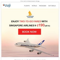 [Zuji] BQ.sg: Fly with SQ fr $190!
