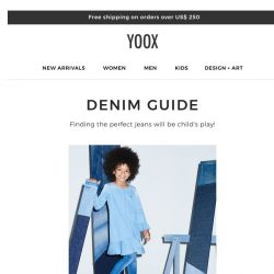 [Yoox] Kids: a guide to jeans for little ones