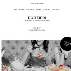 [Forzieri] Sunday Fashion Brunch [24h only VIP Event]
