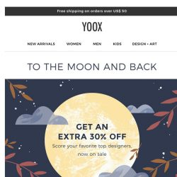 [Yoox] EXTRA 30% off on top brands sneakers: Adidas Originals and more...