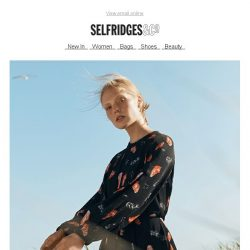 [Selfridges & Co] Your new-season dress, sorted
