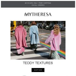 [mytheresa] 48h free shipping + All wrapped up: your new-season coat edit