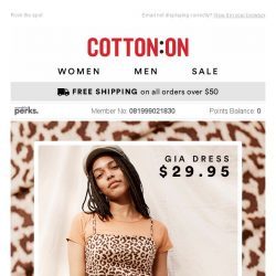 [Cotton On] 🐾WILD FOR LEOPARD 🐾