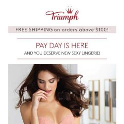 [Triumph] 💰Payday is here!
