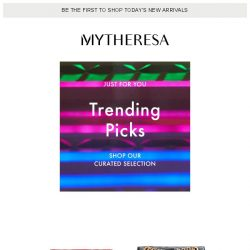 [mytheresa] This week's trending pieces for you