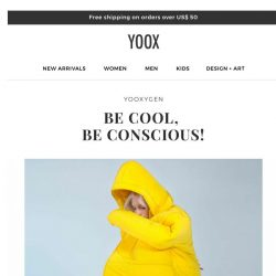 [Yoox] YOOXYGEN: the new collections of sustainable fashion
