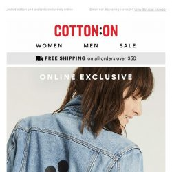 [Cotton On] The MICKEY jacket that's sure to sell out ✨