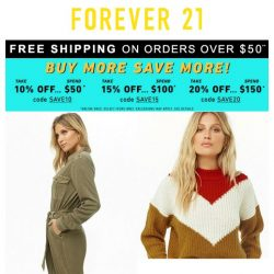 [FOREVER 21] Fresh October Fits