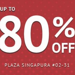 Goldlion: Super Sale with Up to 80% OFF Mens Apparel & Leather Accessories at Plaza Singapura