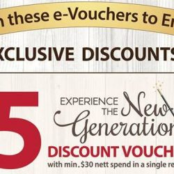 POPULAR: Flash These e-Vouchers to Redeem Up to $20 OFF Your Purchase!