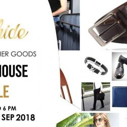 Oxhide: Luxury Leather Goods Warehouse Sale with Prices from $15 Onwards!