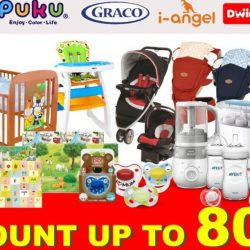 Puku: Baby Products Warehouse Sale with Up to 80% OFF Philips Avent, Graco, i-angel, Dwinguler, Puku & More