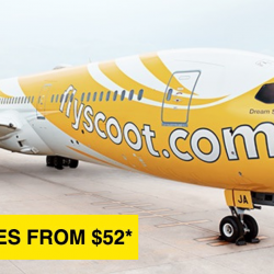 Scoot: Take Off Tuesday with Fares Across Southeast Asia from just $52!