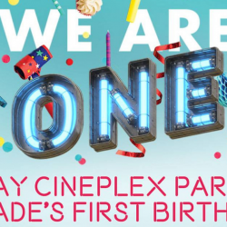 Cathay Cineplexes: Grab $1 Movie Tickets this Week at Parkway Parade!