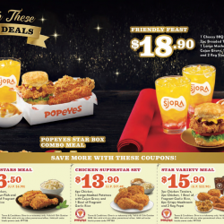 Popeyes: NEW Cheesy BBQ Biscuit Burger + Coupon Deals