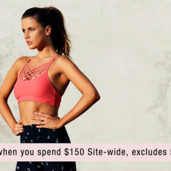 Lorna Jane: Get $30 OFF Women's Activewear Online with BQ's Exclusive Coupon Code!