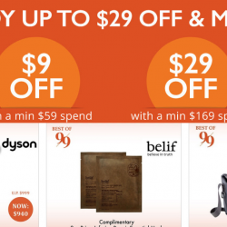 Tangs: 9.9 Online Exclusive - Enjoy Up to $29 OFF with Coupon Codes!