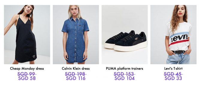 02232e8722c ASOS  Outlet Sale with Up to 60% OFF Big Brands like Cheap Monday ...