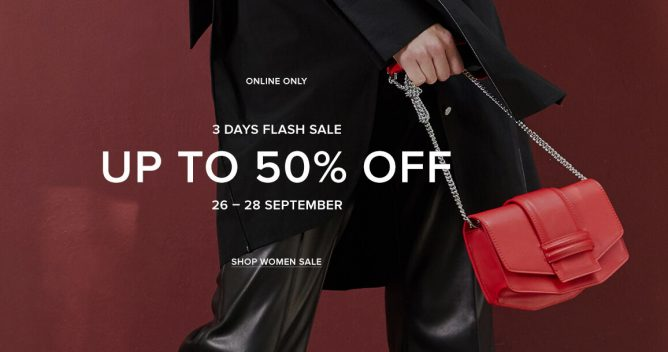 d2c6ca298a Get a stylish new bag or a pair of shoes at PEDRO's Online Flash Sale!  Selected bags, shoes and accessories are at up to 50% off from now till 28  September ...
