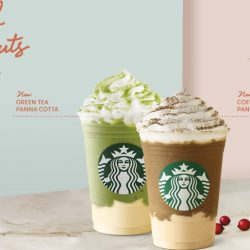 Starbucks: Try the NEW Coffee & Milk Tea Panna Cotta Frappuccino® & Green Tea Panna Cotta Cream Frappuccino® Today!